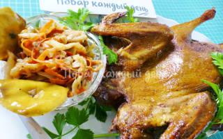 Утка в духовке пошаговый рецепт с фото с капустой