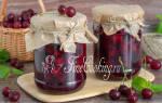 Варенье-желе из вишни на зиму простой рецепт