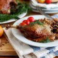 Утка в духовке пошаговый рецепт с фото с гречкой
