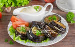 Рецепт баклажаны с майонезом и чесноком