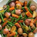 Картофель с овощами запеченный в духовке рецепт с фото