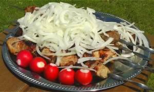 Рецепт маринада с уксусом для шашлыка из свинины
