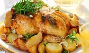В курица с картошкой в духовке в фольге рецепт с фото