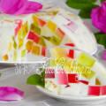 Желе битое стекло со сметаной пошаговый рецепт с фото
