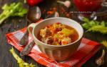 Суп чечевичный с говядиной рецепт с фото