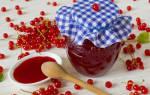 Рецепт желе из сока красной смородины на зиму