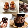 Шоколадные маффины с кусочками шоколада рецепт с фото