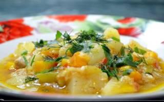 Рагу овощное в мультиварке рецепт с фото