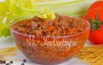 Болоньезе рецепт классический пошаговый рецепт с фото