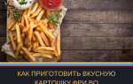 Рецепт картофель фри с фото во фритюрнице