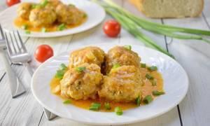 Фрикадельки с подливкой рецепт с фото на сковороде