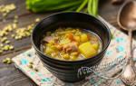 Гороховый суп на курином бульоне рецепт с фото